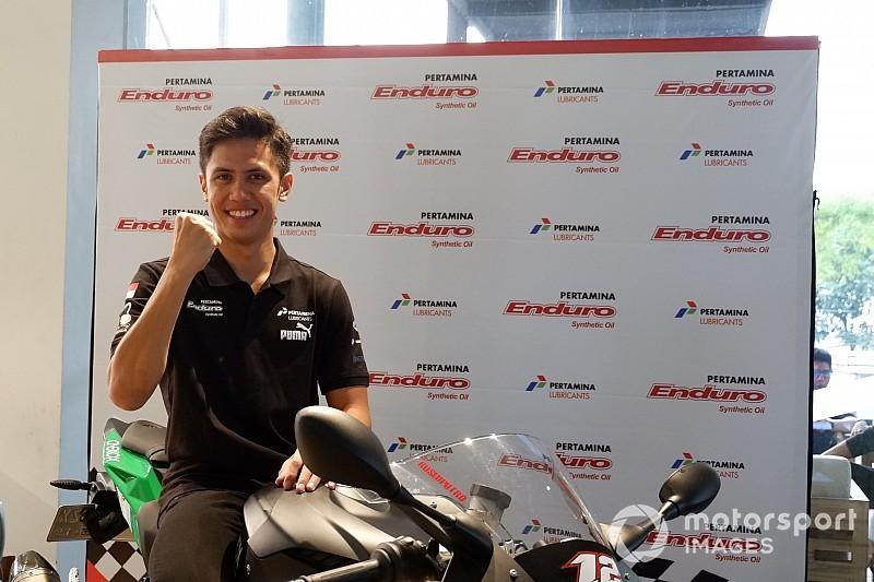 Ali Adrian targetkan tampil di MotoGP Mandalika 2021