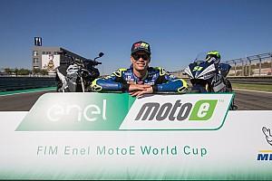 Na última volta, Eric Granado vence simulação de corrida da MotoE