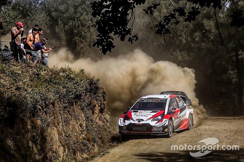 Portugal WRC: Latvala closes on Tanak through longest stage
