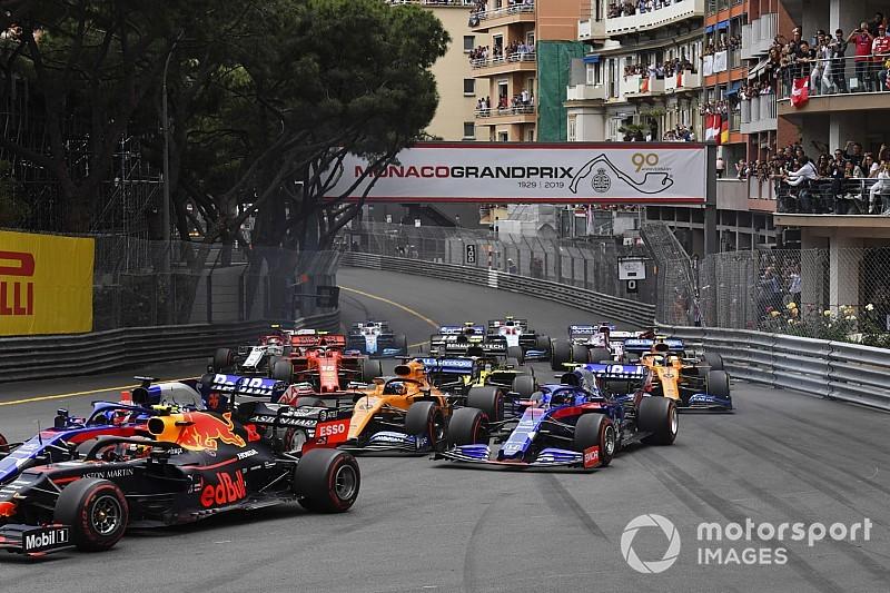 Onboard nézetekből a monacói F1-es start: WOW