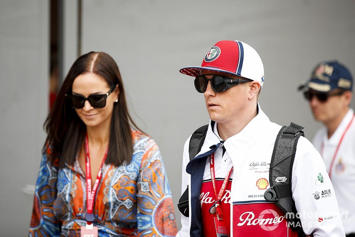 Születésnap a Räikkönen-családban