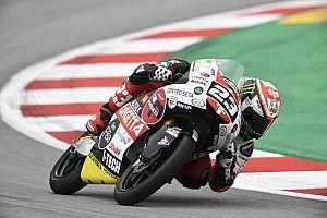 Antonelli es el primero que repite pole este año en Moto3