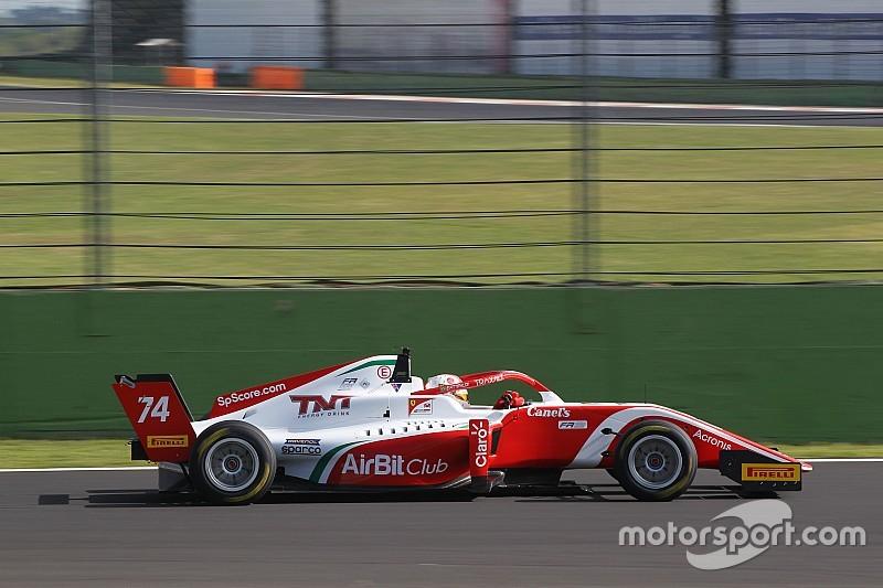 Enzo Fittipaldi é 2º na corrida 2 da F3 Regional Europeia em Vallelunga