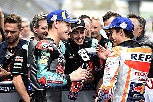 """Quartararo: """"Estoy deseando luchar con Márquez y Rossi"""""""