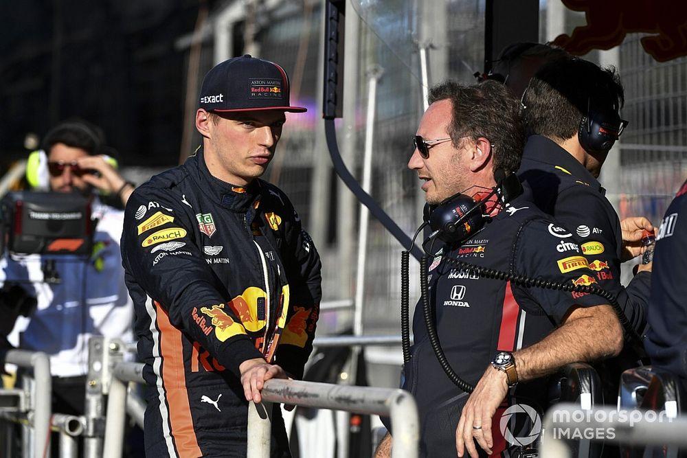 """Horner duidelijk: """"Verstappen rijdt volgend jaar voor Red Bull"""""""