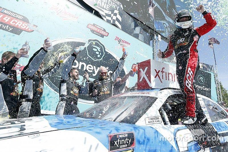 Tyler Reddick beats Gaulding for Xfinity win at Talladega