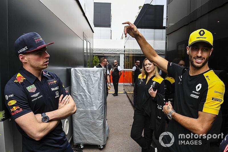 """Horner ziet: """"Verstappen sinds vertrek Ricciardo erg veranderd"""""""