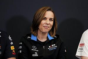 Claire Williams: Az új szabályok miatt remek befektetési lehetőség az F1, és a Williams is
