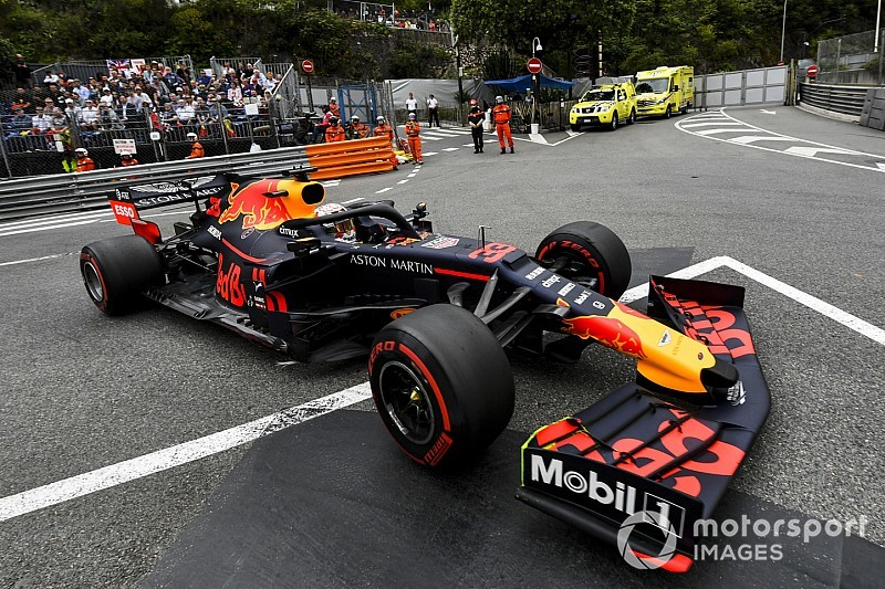 F1モナコFP1速報:ハミルトントップタイム。レッドブル・ホンダのフェルスタッペン僅差の2番手