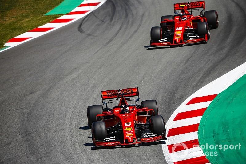 """""""Dói estar tão atrás"""", lamenta Vettel após GP da Espanha de F1"""
