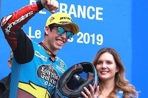 Márquez retrouve enfin la première place, Baldassarri se blesse