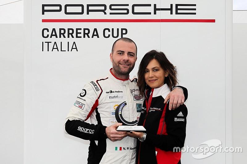 Carrera Cup Italia, Misano: impresa di Mercatali in Michelin Cup!