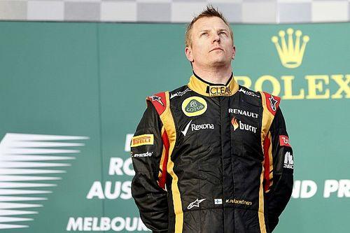Räikkönen azonnal tarolt, és nyert Ausztráliában: mindenki csak nézett