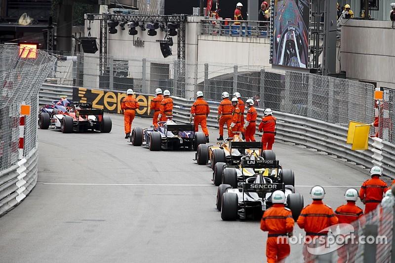 Stewards geven fout toe bij rode vlag F2-race Monaco