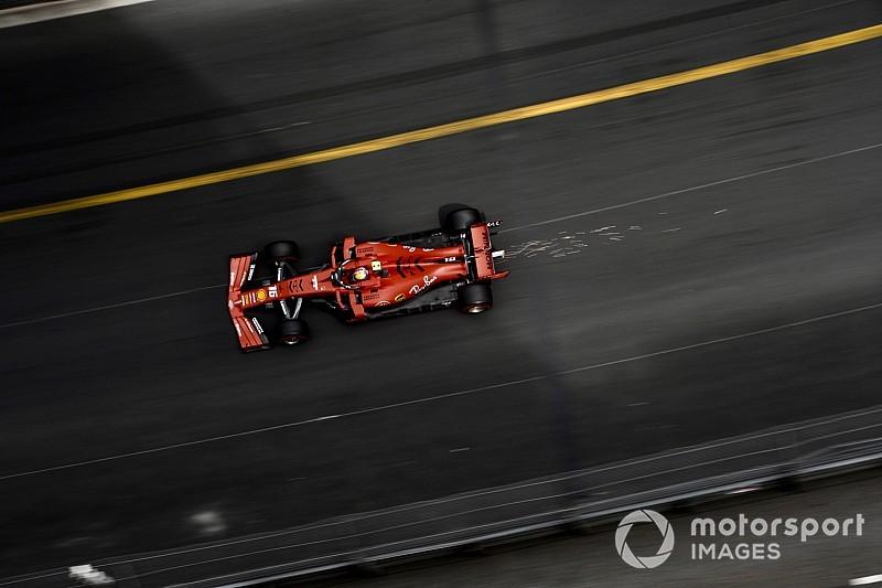 Leclerc lidera y Vettel choca en la práctica 3 de Mónaco