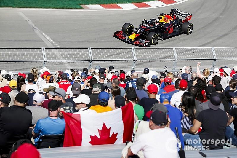 F1カナダFP1速報:ハミルトンがトップタイム。レッドブルのフェルスタッペン4番手