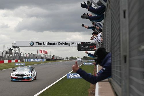 Donington BTCC: Turkington scores back-to-back wins