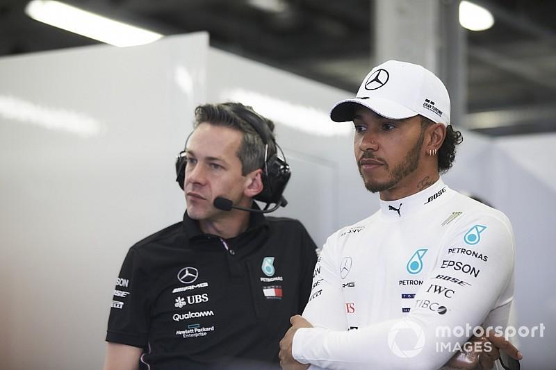 A Mercedes eleget tesz Hamilton kérésének – átalakítják a kormánykijelzőt