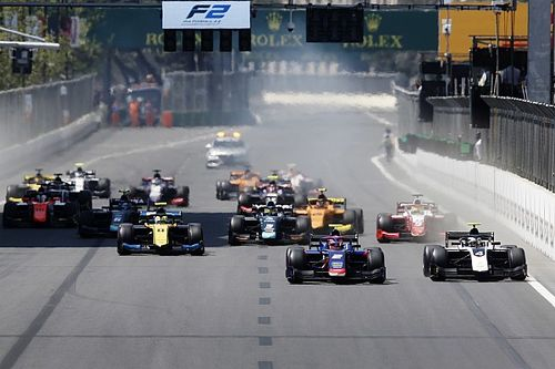 "De Vries concerned by F2 rivals' ""poor rules knowledge"""
