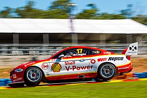 Darwin Supercars: Pole puts McLaughlin on track for Triple Crown