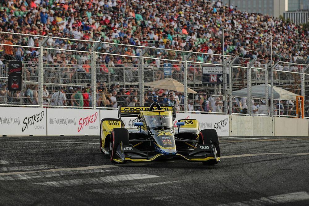 Herta devastated to 'throw away' Nashville IndyCar win
