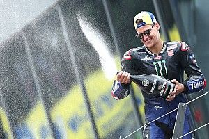 """Un précieux podium pour Quartararo : """"On gagne en constance"""""""