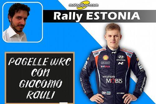 Pagelle WRC: In Estonia Tanak padrone di casa senza chiavi