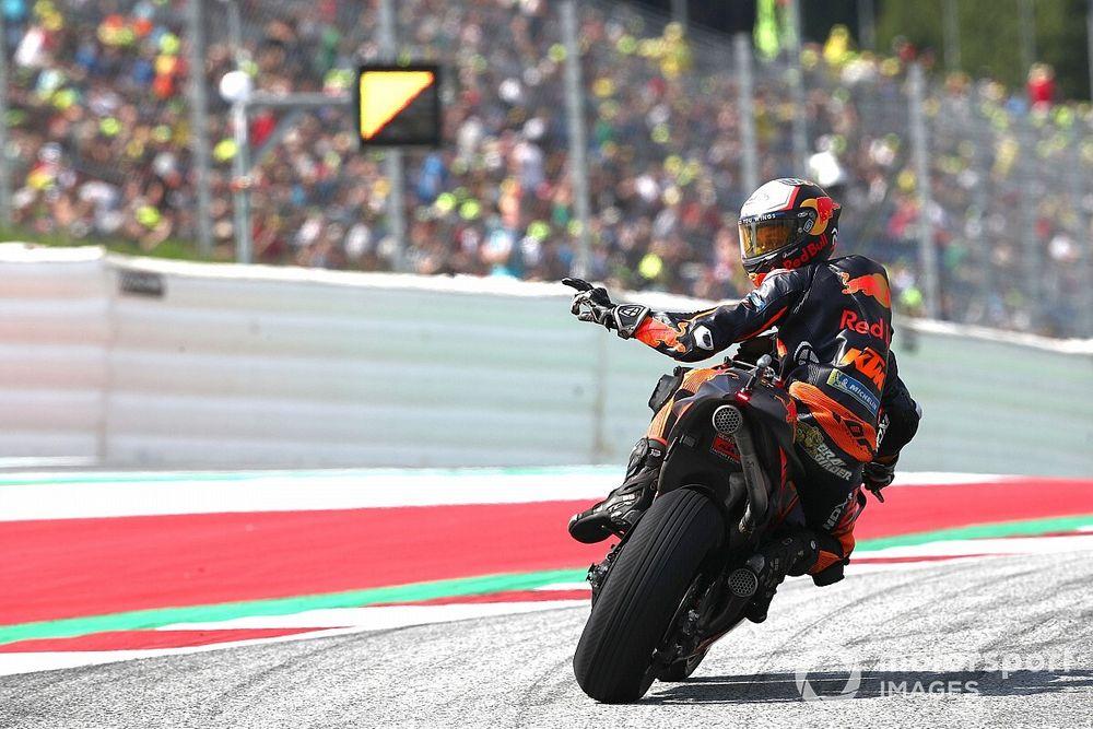 Hasil MotoGP Austria: Drama Flag-to-Flag, Brad Binder Menang