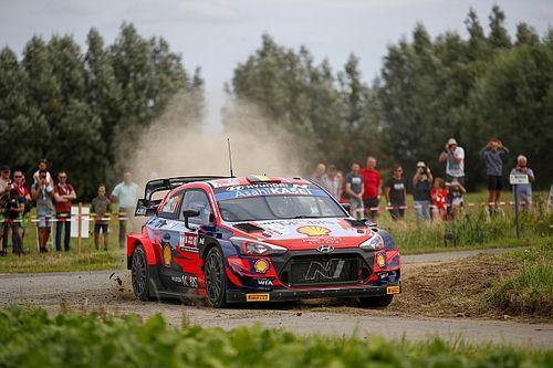 Belgium WRC: Breen closes on Neuville, Tanak hits trouble