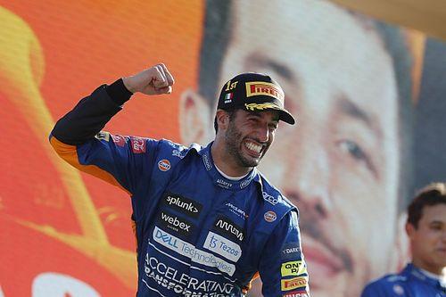 Ricciardo gana el GP de Italia ante choque de Hamilton y Verstappen