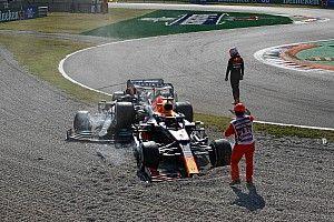 Verstappen says Hamilton left him with nowhere to go