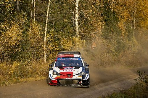 WRC Finland: Katsuta crashes out on Stage 8