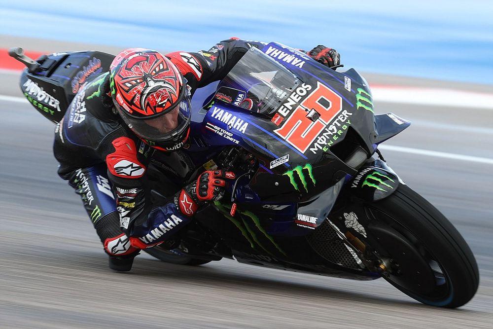 """Quartararo: """"El circuito está como el que utilizo para hacer motocross"""""""
