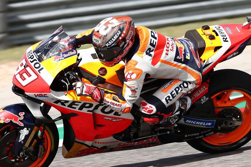 MotoGP Austin: Marquez, ikinci antrenmanlarda da lider