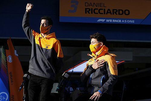 Риккардо объяснил скорость McLaren: Нам повезло с трассами