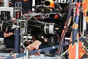GALERÍA TÉCNICA: novedades de los F1 desde los garajes de Zandvoort