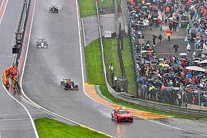 Por que F1 repartió puntos en un GP de Bélgica de solo una vuelta