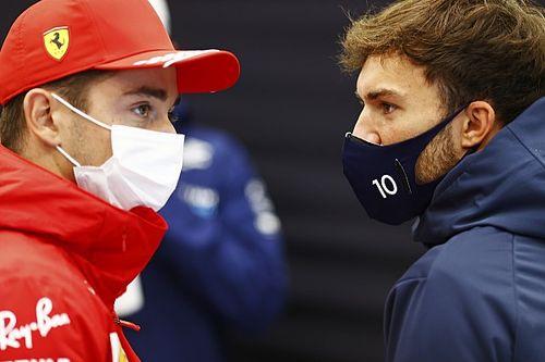 Гасли нацелился удержаться впереди Ferrari в гонке