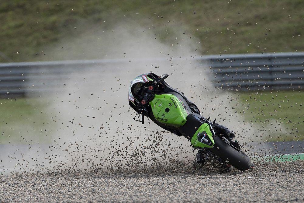 Rea admits Most crash has highlighted Kawasaki weakness
