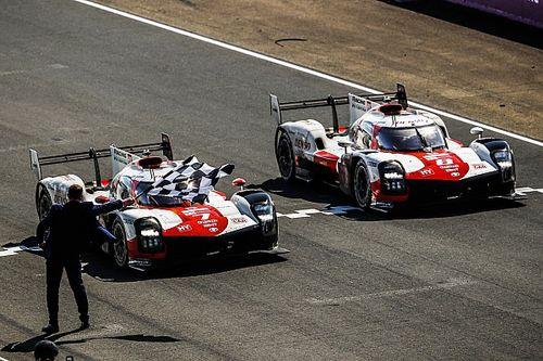 トヨタがワンツーでル・マン24時間レース4連覇を達成! 小林可夢偉の7号車が悲願の初制覇