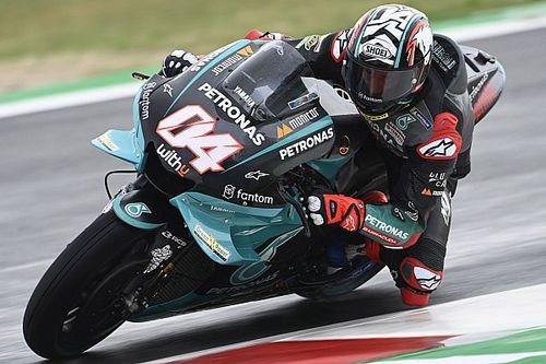 """La Yamaha a semblé """"très étrange"""" à Dovizioso"""