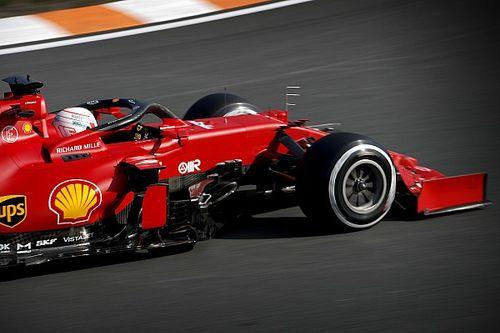 F1オランダFP2:フェラーリがワンツー。母国フェルスタッペンは赤旗でアタック不発、角田裕毅13番手
