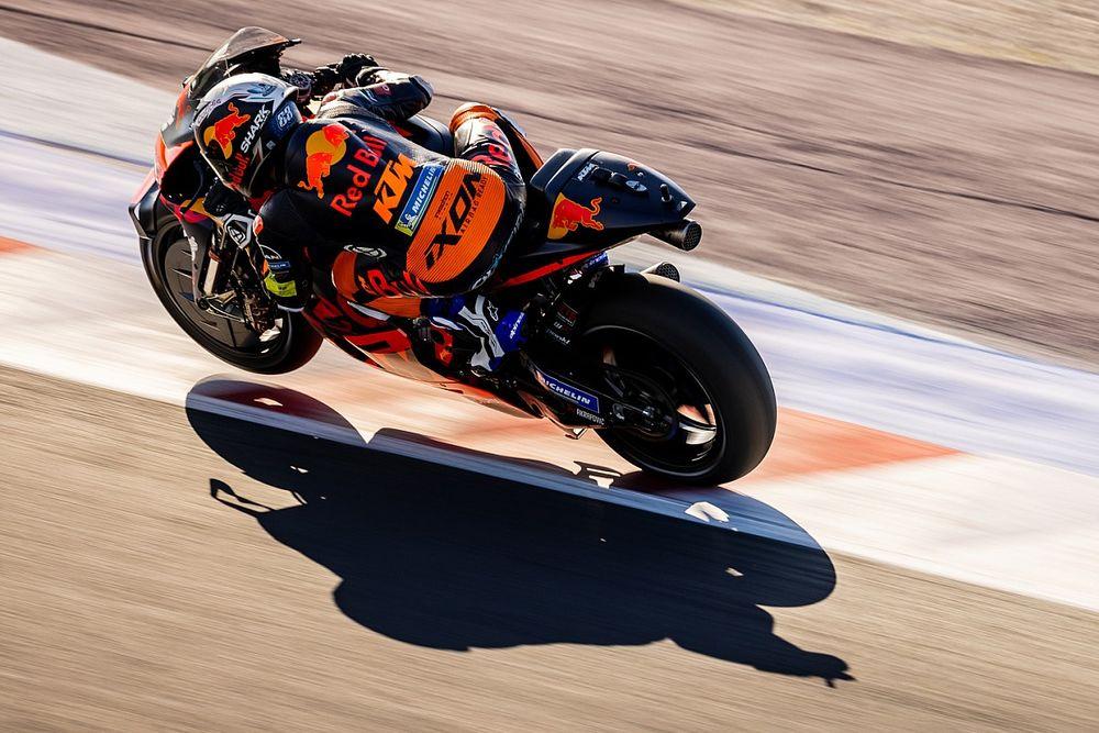 """Miguel Oliveira a retrouvé """"sa"""" KTM au test de Misano"""