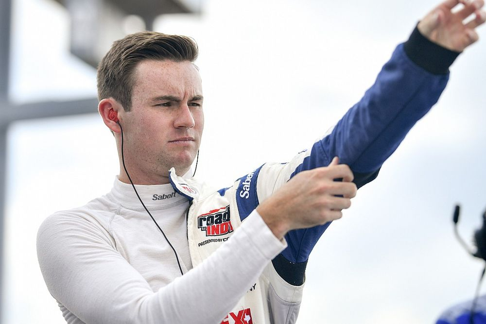 Andretti impressed after Indy Lights champion's first test