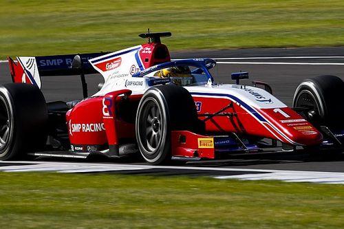 Шварцман закончил 5-м главную гонку Ф2 в Сильверстоуне