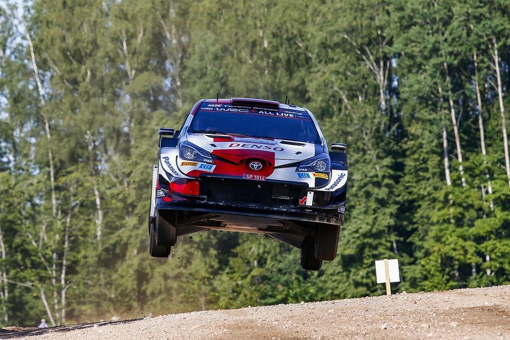 Estonya Rallisi: Rovanpera, ilk sıradaki avantajını arttırdı; Tanak geri döndü