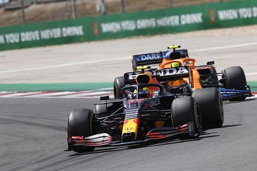 Perez baalt van moment met Norris, Horner boos over 'track limits'