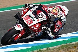 MotoGPスペインFP3:中上貴晶、本領発揮のトップタイムでQ2進出! マルケス兄転倒