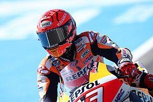 MotoGP: Márquez é levado ao hospital para exames após acidente no TL3, mas deve participar de classificação