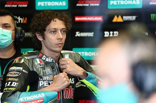"""Valentino Rossi : """"Pas très drôle quand on est lent"""""""